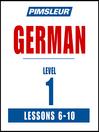 Pimsleur German Level 1 Lessons 6-10 MP3