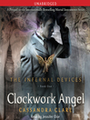 Cover image for Clockwork Angel