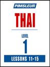 Pimsleur Thai Level 1 Lessons 11-15 MP3