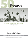 50 Essays: A Portable Anthology [electronic resource]