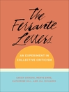 The Ferrante Letters