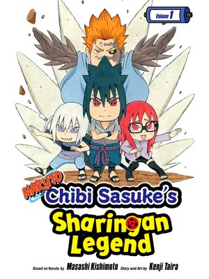 cover image of Naruto: Chibi Sasuke's Sharingan Legend, Volume 1