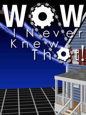 cover image of Wow, I Never Knew That!, Season 1, Episode 8