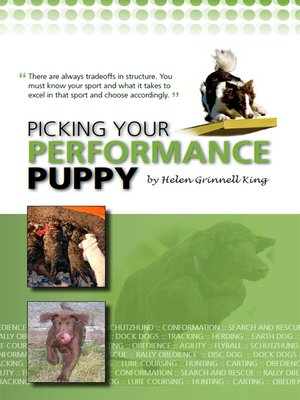 cover image of Picking Your Performance Puppy