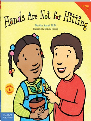 cover image of Hands Are Not for Hitting