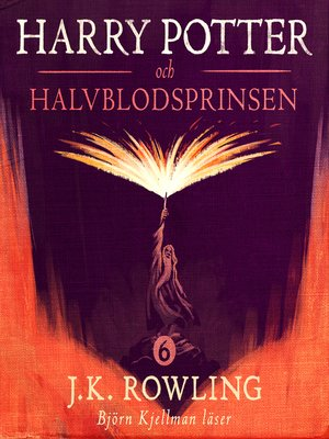 cover image of Harry Potter och Halvblodsprinsen