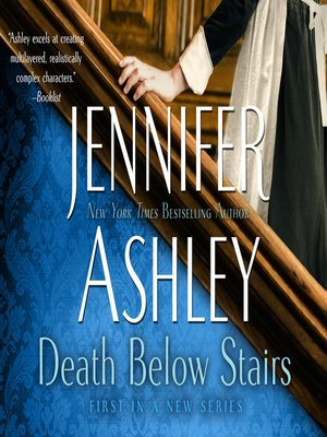 cover image of Death Below Stairs