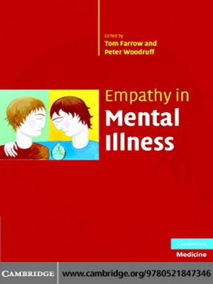 cover image of Empathy in Mental Illness