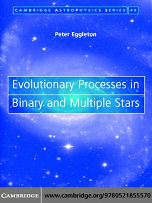 cover image of Evolutionary Processes in Binary and Multiple Stars