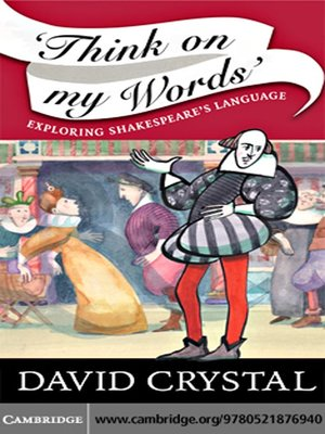 cover image of Think On My Words