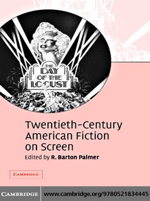 cover image of Twentieth-Century American Fiction on Screen