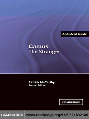 cover image of Camus