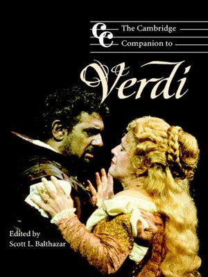 cover image of The Cambridge Companion to Verdi