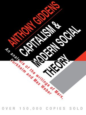 capitalism and modern social theory anthony giddens pdf