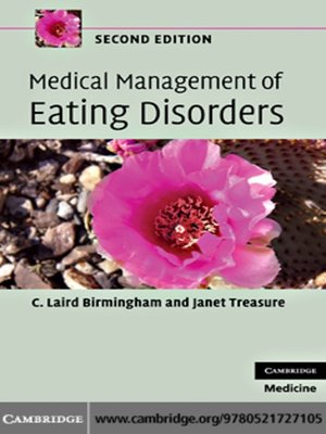 cover image of Medical Management of Eating Disorders
