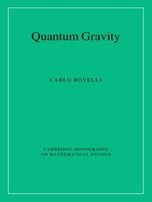 cover image of Quantum Gravity