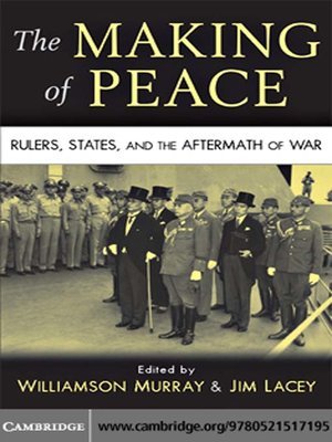 cover image of The Making of Peace