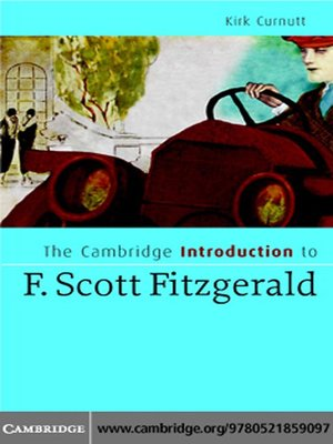 an introduction to the life and literature by f scott fitzgerald Introduction f scott fitzgerald is one of the most renowned writers of the 20th century that his heritage and the public study and the necessity of awareness of literature and fitzgerald's life and environment at that time seems useful.