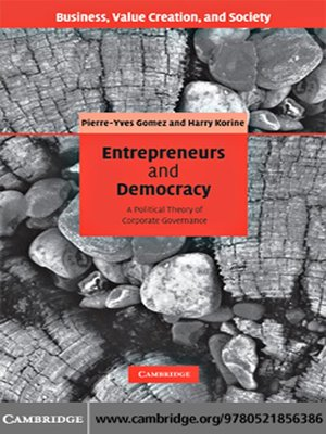 cover image of Entrepreneurs and Democracy