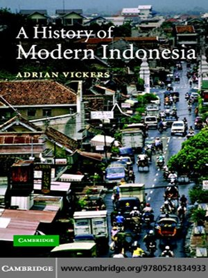 cover image of A History of Modern Indonesia