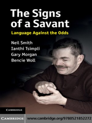 cover image of The Signs of a Savant