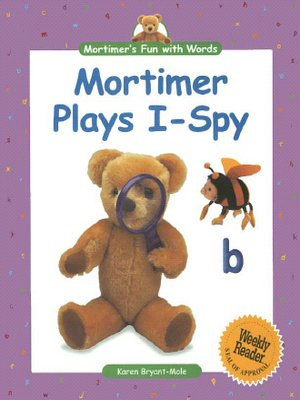 cover image of Mortimer's Fun with Words: Mortimer Plays I-Spy