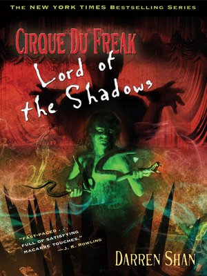cover image of Lord of the Shadows