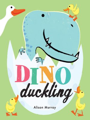 cover image of Dino Duckling