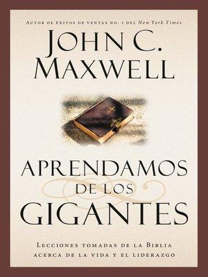 cover image of Aprendamos de los Gigantes