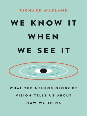 cover image of We Know It When We See It