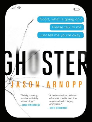 cover image of New Jason Arnopp Novel #2