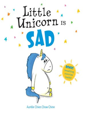 cover image of Little Unicorn Is Sad