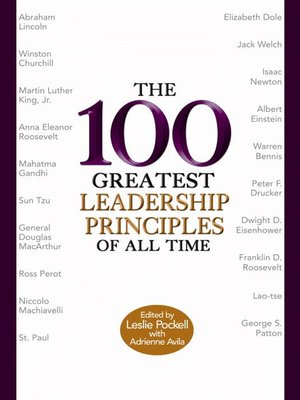 cover image of The 100 Greatest Leadership Principles of All Time
