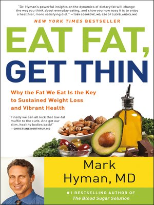 cover image of Eat Fat, Get Thin
