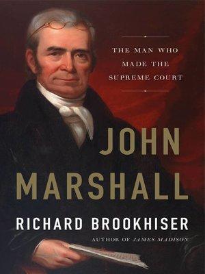 cover image of John Marshall
