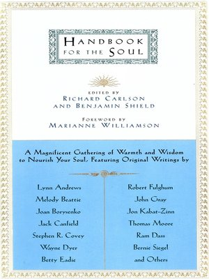 cover image of Handbook for the Soul