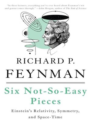 cover image of Six Not-So-Easy Pieces