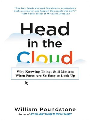 cover image of Head in the Cloud