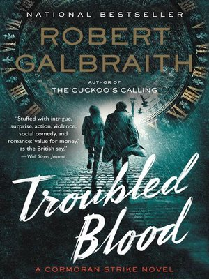 cover image of Troubled Blood
