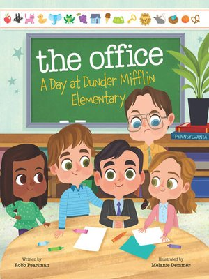 cover image of The Office--A Day at Dunder Mifflin Elementary