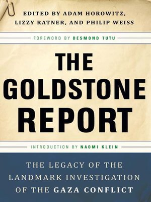 cover image of The Goldstone Report