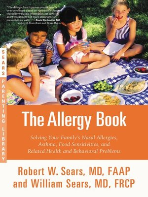 cover image of The Allergy Book