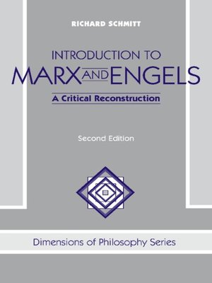 cover image of Introduction to Marx and Engels