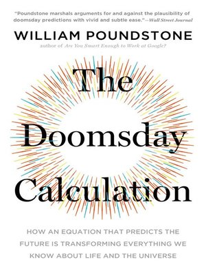 cover image of The Doomsday Calculation
