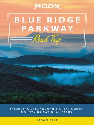 cover image of Moon Blue Ridge Parkway Road Trip