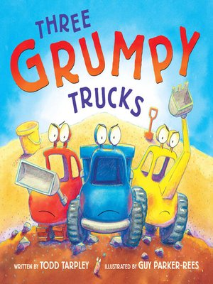 cover image of Three Grumpy Trucks