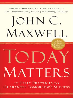 cover image of Today Matters