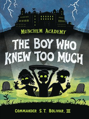 cover image of The Boy Who Knew Too Much