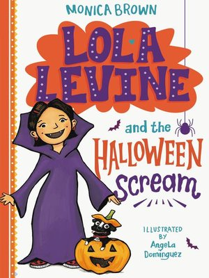 cover image of Lola Levine and the Halloween Scream