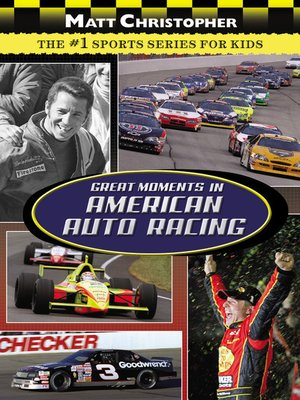cover image of Great Moments in American Auto Racing